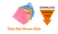 Download Artwork Guide : Brite-Mat Mouse Mats BRMM