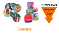 Download Artwork Guide : Brite-Mat Coasters BRMC