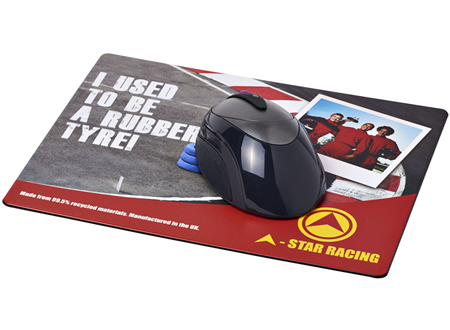 Rectangular Tyre Mouse Mat